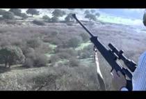 Охотник с карабином