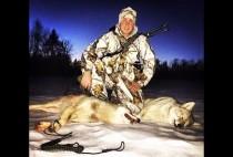 Охотник с трофеем