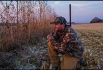 Охотник манит утку