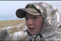 Юный охотник на волков