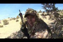 Охотник с самозарядным карабином