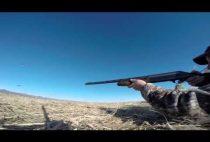 Охотник приготовился стрелять