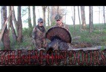 Американские охотники с добытой птицей