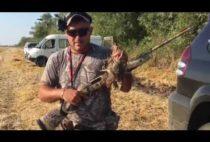 Охотник с добычей в руках