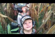 Юные охотники