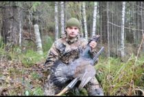 Охотник с добытой птицей